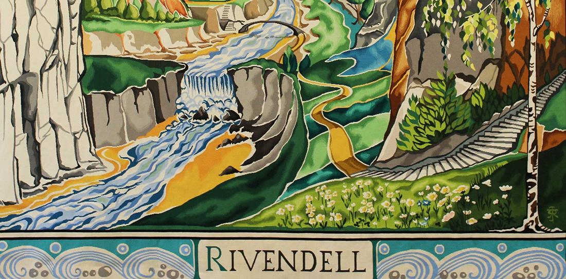 Rivendell, d'après JRR Tolkien