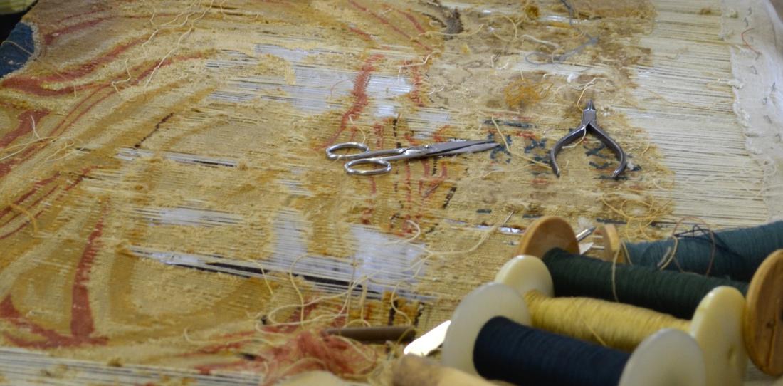 La restauration de tapisseries anciennes