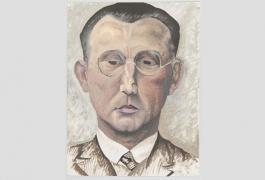 Portrait d'Elie Maingonnat par Denise Duplessis, années 1930