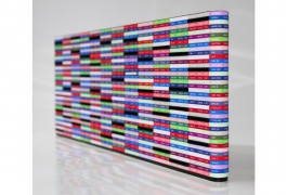 Stock Exchange, de Alexandre Morronoz et Julie Costaz, 2e prix 2012 de la Cité internationale de la tapisserie, maquette numérique