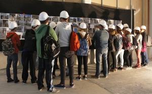 Les coulisses du bâtiment: 400 élèves se sont succédé sur le chantier