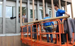 L'Atelier de restauration de tapisseries du Mobilier national retrouve ses locaux